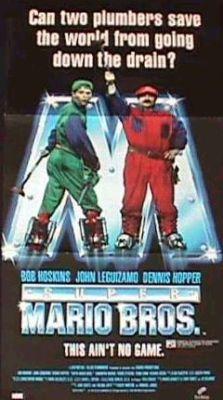 """Постер к фильму """"Супербратья Марио"""" /Super Mario Bros./ (1993)"""