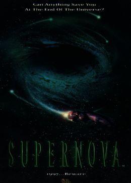 """Постер к фильму """"Сверхновая"""" /Supernova/ (2000)"""