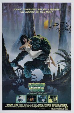 """Постер к фильму """"Болотная тварь"""" /Swamp Thing/ (1982)"""