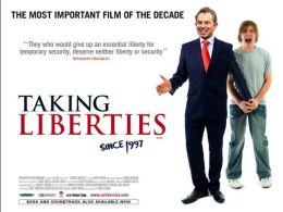 """Постер к фильму """"Позволить себе вольности"""" /Taking Liberties/ (2007)"""