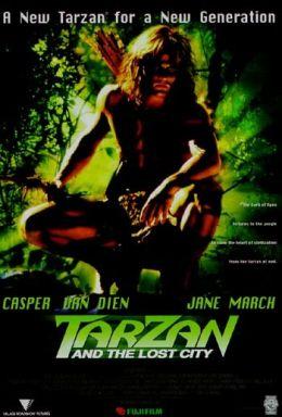 "Постер к фильму ""Тарзан и затерянный город"" /Tarzan and the Lost City/ (1998)"