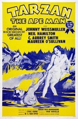 "Постер к фильму ""Тарзан: Человек-обезьяна"" /Tarzan the Ape Man/ (1932)"
