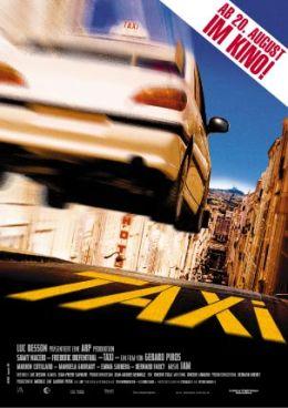 """Постер к фильму """"Такси"""" /Taxi/ (1998)"""
