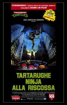"Постер к фильму ""Черепашки-ниндзя"" /Teenage Mutant Ninja Turtles/ (1990)"