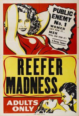 """Постер к фильму """"Сумасшествие вокруг марихуаны"""" /Tell Your Children/ (1935)"""