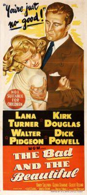 """Постер к фильму """"Злые и красивые"""" /The Bad and the Beautiful/ (1952)"""