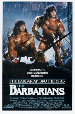"Постер к фильму ""Варвары"" /The Barbarians/ (1987)"