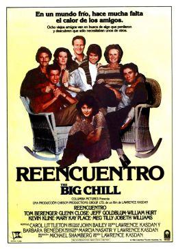 """Постер к фильму """"Большое разочарование"""" /The Big Chill/ (1983)"""