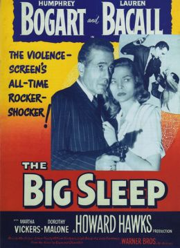 "Постер к фильму ""Глубокий сон"" /The Big Sleep/ (1946)"