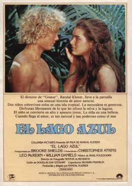 "Постер к фильму ""Голубая лагуна"" /The Blue Lagoon/ (1980)"