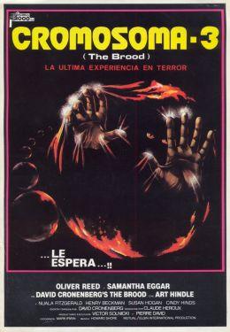 """Постер к фильму """"Выводок"""" /The Brood/ (1979)"""