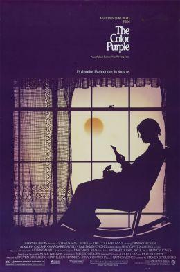 """Постер к фильму """"Цветы лиловые полей"""" /The Color Purple/ (1985)"""