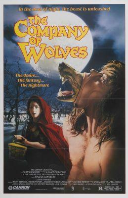 """Постер к фильму """"В компании волков"""" /The Company of Wolves/ (1984)"""