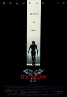 """Постер к фильму """"Ворон"""" /The Crow/ (1994)"""