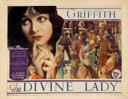 "Постер к фильму ""Божественная леди"" /The Divine Lady/ (1928)"