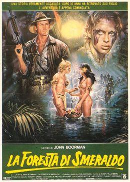 """Постер к фильму """"Изумрудный лес"""" /The Emerald Forest/ (1985)"""