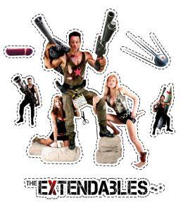 """Постер к фильму """"Удержимые"""" /The Extendables/ (2014)"""