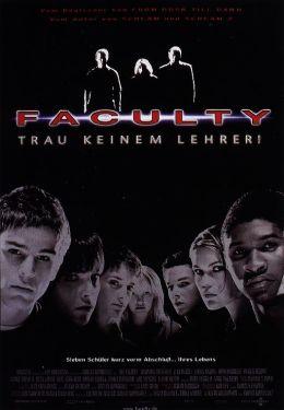 """Постер к фильму """"Факультет"""" /The Faculty/ (1998)"""