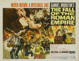 """Постер к фильму """"Падение Римской Империи"""" /The Fall of the Roman Empire/ (1964)"""