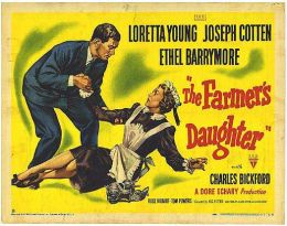 """Постер к фильму """"Дочь фермера"""" /The Farmer's Daughter/ (1947)"""