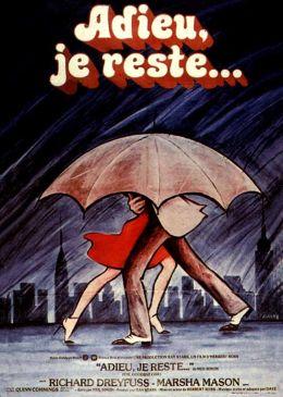 "Постер к фильму ""До свидания, дорогая"" /The Goodbye Girl/ (1977)"