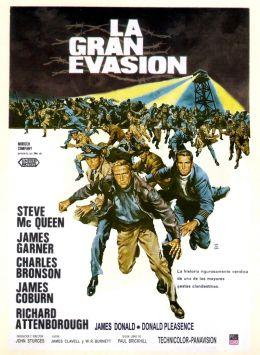 """Постер к фильму """"Большой побег"""" /The Great Escape/ (1963)"""