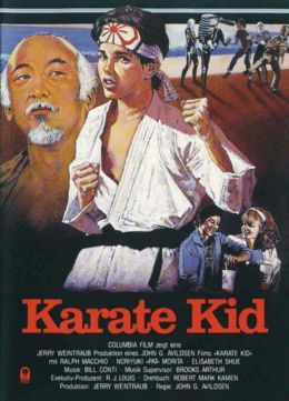 "Постер к фильму ""Парень-каратист"" /The Karate Kid/ (1984)"