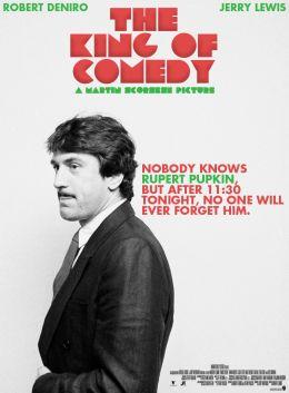 """Постер к фильму """"Король комедии"""" /The King of Comedy/ (1982)"""
