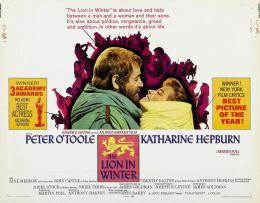 """Постер к фильму """"Лев зимой"""" /The Lion in Winter/ (1968)"""