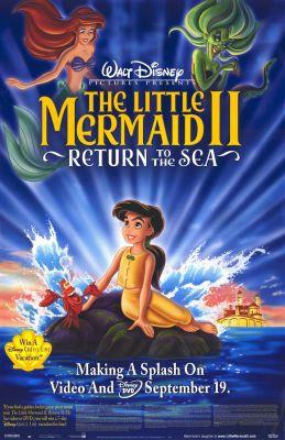 "Постер к фильму ""Русалочка 2: Возвращение в море"" /The Little Mermaid II: Return to the Sea (2000)/ (2000)"