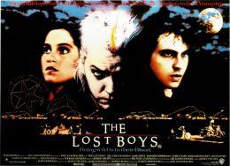 """Постер к фильму """"Пропащие ребята"""" /The Lost Boys/ (1987)"""