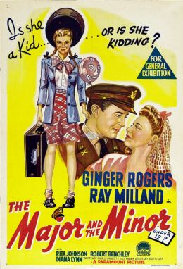 "Постер к фильму ""Майор и малышка"" /The Major and the Minor/ (1942)"