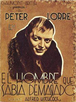 "Постер к фильму ""Человек, который слишком много знал"" /The Man Who Knew Too Much/ (1934)"