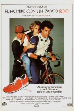 """Постер к фильму """"Человек в красном ботинке"""" /The Man with One Red Shoe/ (1985)"""