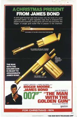 """Постер к фильму """"Человек с золотым пистолетом"""" /The Man with the Golden Gun/ (1974)"""