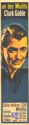"""Постер к фильму """"Неприкаянные"""" /The Misfits/ (1961)"""