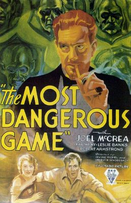 "Постер к фильму ""Самая опасная игра"" /The Most Dangerous Game/ (1932)"