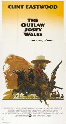 """Постер к фильму """"Джоси Уэйлс - человек вне закона"""" /The Outlaw Josey Wales/ (1976)"""