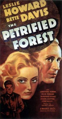 "Постер к фильму ""Окаменевший лес"" /The Petrified Forest/ (1936)"