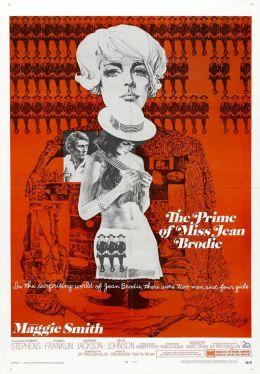 "Постер к фильму ""Расцвет мисс Джин Броди"" /The Prime of Miss Jean Brodie/ (1969)"