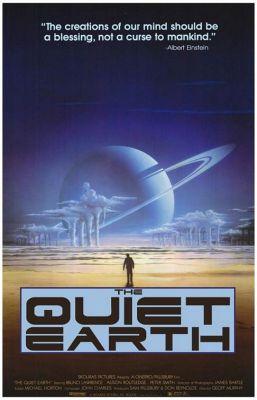 """Постер к фильму """"Тихая земля"""" /The Quiet Earth/ (1985)"""