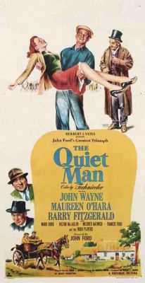 """Постер к фильму """"Тихий человек"""" /The Quiet Man/ (1952)"""
