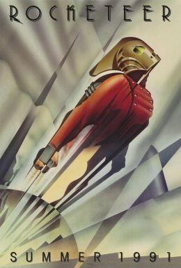 "Постер к фильму ""Ракетчик"" /The Rocketeer/ (1991)"