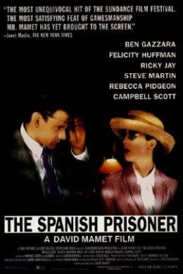 "Постер к фильму ""Испанский узник"" /The Spanish Prisoner/ (1997)"