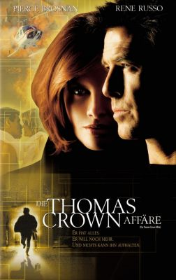 """Постер к фильму """"Афера Томаса Крауна"""" /The Thomas Crown Affair/ (1999)"""