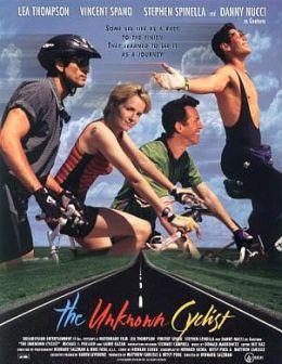 """Постер к фильму """"Неизвестный велосипедист"""" /The Unknown Cyclist/ (1998)"""