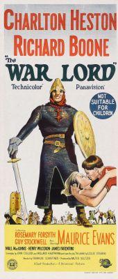 """Постер к фильму """"Властелин войны"""" /The War Lord/ (1965)"""