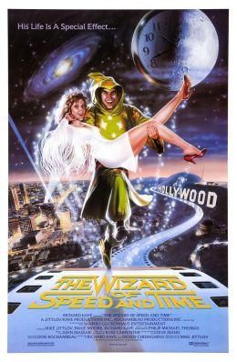 """Постер к фильму """"Повелитель скорости и времени"""" /The Wizard of Speed and Time/ (1988)"""