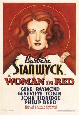 """Постер к фильму """"Женщина в красном"""" /The Woman in Red/ (1935)"""