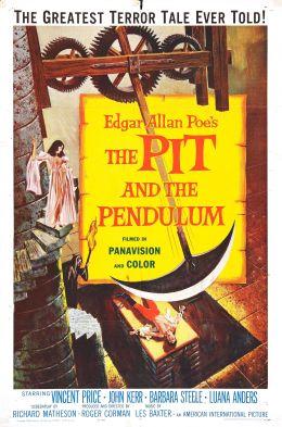 "Постер к фильму ""Колодец и маятник"" /Pit and the Pendulum/ (1961)"